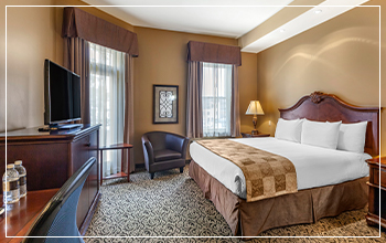 Superior hotel rooms, hotels in Stratford Ontario