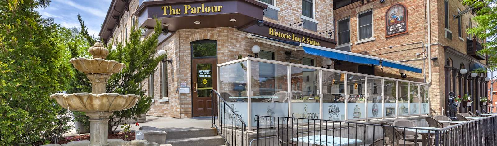 The Parlour Inn in Stratford Ontario