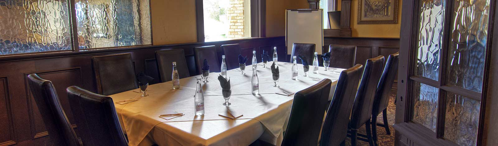Private Dining at The Parlour Inn in Stratford Ontario